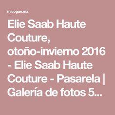 Elie Saab Haute Couture, otoño-invierno 2016 - Elie Saab Haute Couture - Pasarela | Galería de fotos 50 de 56 | VOGUE
