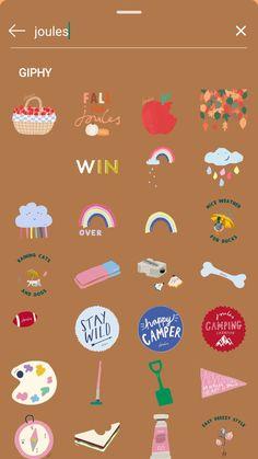 Instagram Blog, Instagram Frame, Instagram And Snapchat, Creative Instagram Stories, Instagram Story Ideas, Snapchat Stickers, Instagram Story Template, Instagram Highlight Icons, Cute Stickers