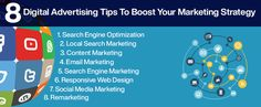 8 Digital Advertising Tips To Boost Your Marketing Strategy - Web Design Barrie Content Marketing, Internet Marketing, Social Media Marketing, Digital Marketing, Website Layout, Web Layout, Design Layouts, Mobile Web Design, Design Web