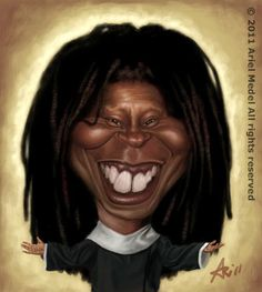 Whoopi Goldberg is an American comedienne, actress, singer-songwriter, political activist, author and talk show host.  Born: November 13, 1955 (age 59), Manhattan, New York City, NY.  Full name: Caryn Elaine Johnson. Children: Alex Martin.