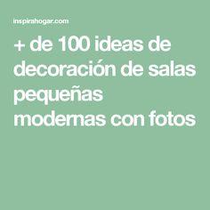 + de 100 ideas de decoración de salas pequeñas modernas con fotos