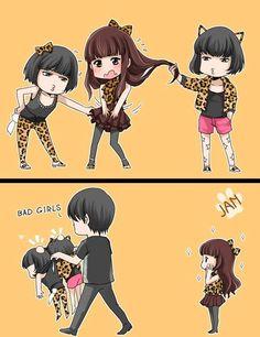 Vixx VIXX Ravi Ken Hongbin Wonder Girls Parody  Ravi and Ken teasing Hongbin and Leo saves him :33