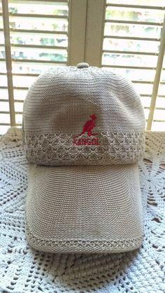 KANGOL Flex fit baseball cap beige Ladies Hat by PattiesPassion Fitted  Baseball Caps 44c0ab2f5197