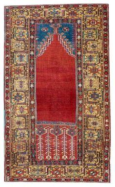 Turkish Ladik prayer rug, 19th c