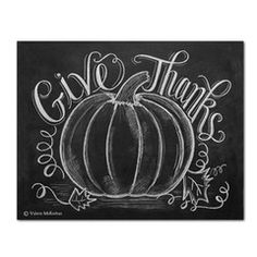 Give Thanks with Pumpkin (Print)