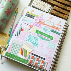 Journaling/ memory keeping in my @inkwellpress using goodies from @cocoa_daisy July Main Kit as well as some desk top goodies that were floating around. Side one. How do you use your InkWellPress? If you're seeking some motivation check out the other amazing innovators :) @plannerfriend @paperedlove @gaeshagirlcreations @createwithbeth @theresetgirl