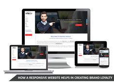 Brand loyalty is created by responsive websites because these websites can be viewed from mobile devices which are used by a large number of people. Buttons For Website, Mobile Responsive, Creating A Brand, Kolkata, Cool Websites, Loyalty, Web Development, Digital Marketing, Web Design
