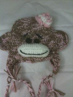 Girls Monkey Hat