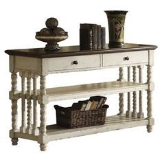 I pinned this Heritage Console Table from the Best Sellers at the Best Prices event at Joss and Main!