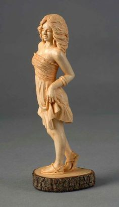 Wooden Sculpture by James Huc, Poplar Bluff, MO