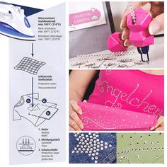 Voici comment utiliser le crystal pen, un applicateur de strass pour papier et tissus
