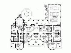 11 best dream homes images on pinterest floor plans for Spear house blueprints