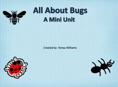 """FREE LANGUAGE ARTS LESSON - """"All About Bugs"""" - Go to The Best of Teacher Entrepreneurs for this and hundreds of free lessons.  http://thebestofteacherentrepreneurs.blogspot.com/2012/05/free-language-arts-lesson-all-about.html"""