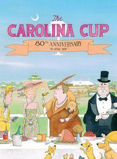 Carolina Cup--I love the illustration of the generational gap!