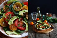 Добрый день! Сегодня вновь развлекаемся простеньким но вкусным салатом с горчичной заправкой! Без лишних слов к делу: на 2 порции 1 авокадо листья салата/шпината 1 сладкий перец сок 1/2 лимона 1 ч/л меда 1 ч/л острой горчицы 4-5 ст/л ол масла соль и перец Авокадо очистить и нарезать дольками, перец…