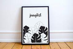 Junglist Graphic Art Print
