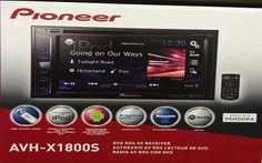 "Pioneer AVH-X1800S 2-DIN Multimedia Receiver 6.2"" Touchscreen  #Pioneer"