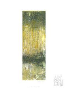 Treeline Abstract II Art Print by Jennifer Goldberger at Art.com