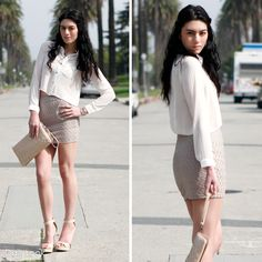 Check out Lovely & Chic Pink Nude Look by Swoon, and Anne Michelle  at DailyLook