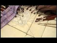 Nancy Today: Bobbin lace work Tombolo