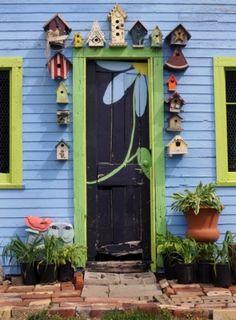 Casinhas de passarinho no jardim - VilaClub