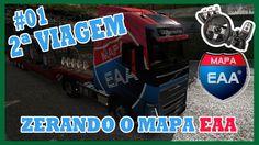 01# EURO TRUCK SIMULATOR 2 ZERANDO O MAPA EAA COM G27