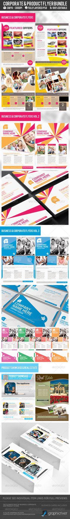 Corporate & Product Flyer Premium Bundle