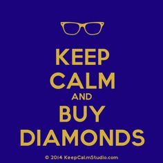 Advice of the day from FMJ!! #Diamonds #FMJ #Chicago #Staycalm