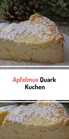 Unsichtbarer Apfelkuchen – Rezept für Gateau Invisible aux Pommes - New ideas Cookie Recipes From Scratch, Easy Cake Recipes, Quark Recipes, Baking Recipes, Low Fat Cake, Shortcrust Pastry, New Cake, Cake Mix Cookies, Moist Cakes