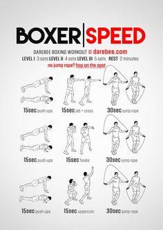 Boxer Speed Workout