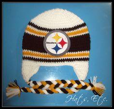 Steelers Handmade Hat  19. TejidosInviernoSombreros ... a723662734f