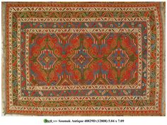 48829D - SOUMAK STYLE - Darius Antique Rugs - Stark Carpet