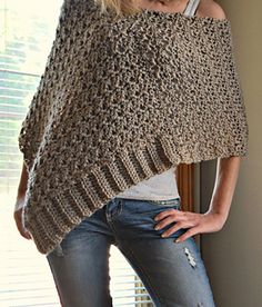 Precious Poncho: crochet pattern for purchase