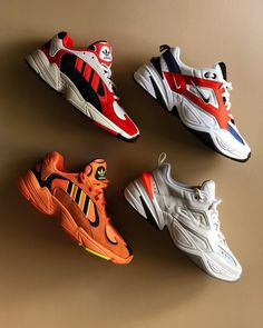 """Nike Techno """"Team Orange"""" und adidas Hi-Res Orange """"Goku"""" . - namasté - - Nike Techno """"Team Orange"""" und adidas Hi-Res Orange """"Goku"""" . Addidas Sneakers, Best Sneakers, Sneakers Fashion, Shoes Sneakers, Summer Sneakers, Dad Shoes, Me Too Shoes, Tenis Nike Casual, Hype Shoes"""
