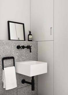 Contemporary and yet Classical: Atelier du Pont Renovates a Historic Parisian Apartment Bad Inspiration, Bathroom Inspiration, Bathroom Ideas, Bathroom Renovations, Shower Ideas, Bathroom Interior, Modern Bathroom, Master Bathroom, Glass Bathroom