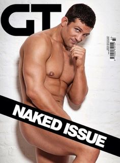 Gay Times Naked Issue: Alex Reid www.gtdigi.co.uk