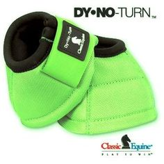 Lime Green Bell Boots