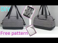 Diy Bags Patterns, Handbag Patterns, Patchwork Quilt, Patchwork Bags, Denim Quilts, Handbag Tutorial, Diy Handbag, Diy Tote Bag, Diy Purse