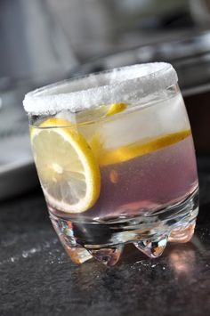 Lavender Infused Lemon Drop