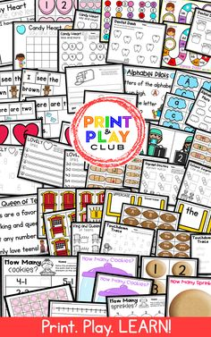 Take your math and literacy centers to the next level with playful, fun learning that is planned for Kindergarten Freebies, Kindergarten Centers, Preschool Classroom, Kindergarten Classroom, Literacy Centers, Fun Math, Preschool Activities, Alphabet Activities, Preschool Printables