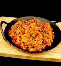 Djuvec rice a delicious rice side dish - too lazy to cook? - Djuvec rice a delicious rice side dish – too lazy to cook? Meat Recipes, Salad Recipes, Delicious Recipes, Vegetarian Recipes, Healthy Corn, Rice Side Dishes, Rice Recipes For Dinner, India Food, Evening Meals