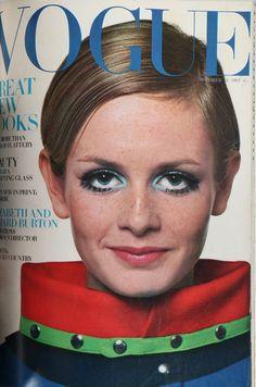 Twiggy Vogue 1967
