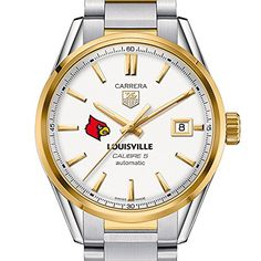 Louisville Mens TAG Heuer TwoTone Carrera with Bracelet * Check this awesome product by going to the link at the image. (This is an affiliate link and I receive a commission for the sales)