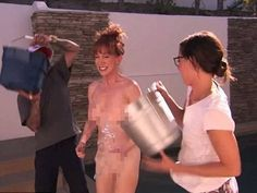 Celebrity Goes Nude For ice Bucket Challenge | VMTV Live