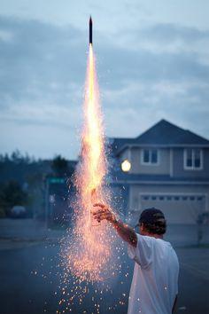 Bottle Rocket by Jason Groepper