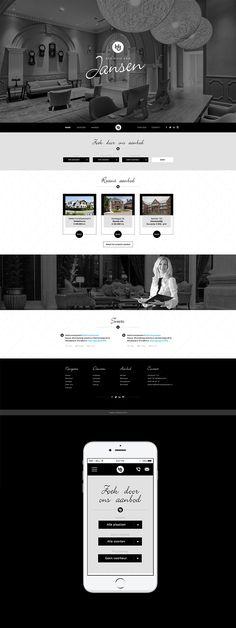 Website voor Makelaar Het Huis van Jansen