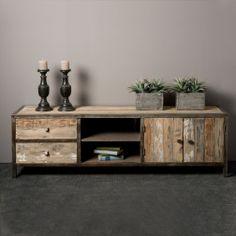 Tower Living Tv-meubel 'Wouter' 180cm Furniture, Sala, Interior, Living Room Console, Interior Furniture, Home Decor, Interior Design, Wood Furniture, Home Decor Furniture