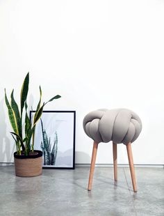 Knot Cushions & Stools by Knots Studio | Prodeez