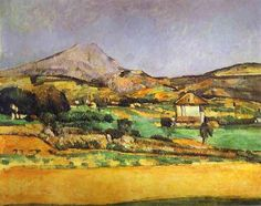 Paul Cézanne, Plain by Maunte St Victoire