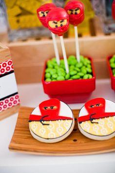 Ninja / Ninjago #Lego themed birthday #party via Kara's Party #Ideas | KarasPartyIdeas.com